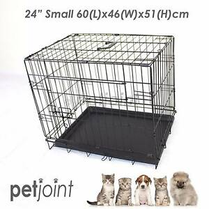 "24"" S Metal Pet Dog Cat Puppy Rabbit Bird Rat Cage Kennel Crate 1 Campbellfield Hume Area Preview"