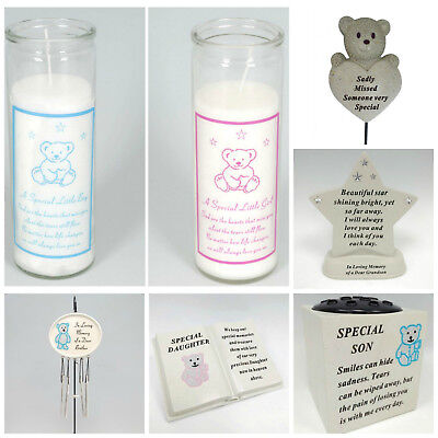 Baby Child Boy/Girl Memorial Plaques,Tributes,Graveside Spikes,Remembrance Vase