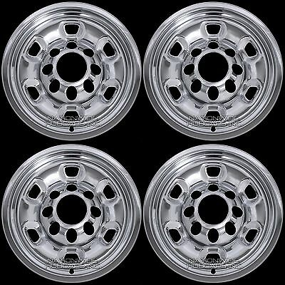 "4 for Ram 2500 2014-2018 Chrome 17"" Wheel Skins Rim Simulators Hub Caps Covers"