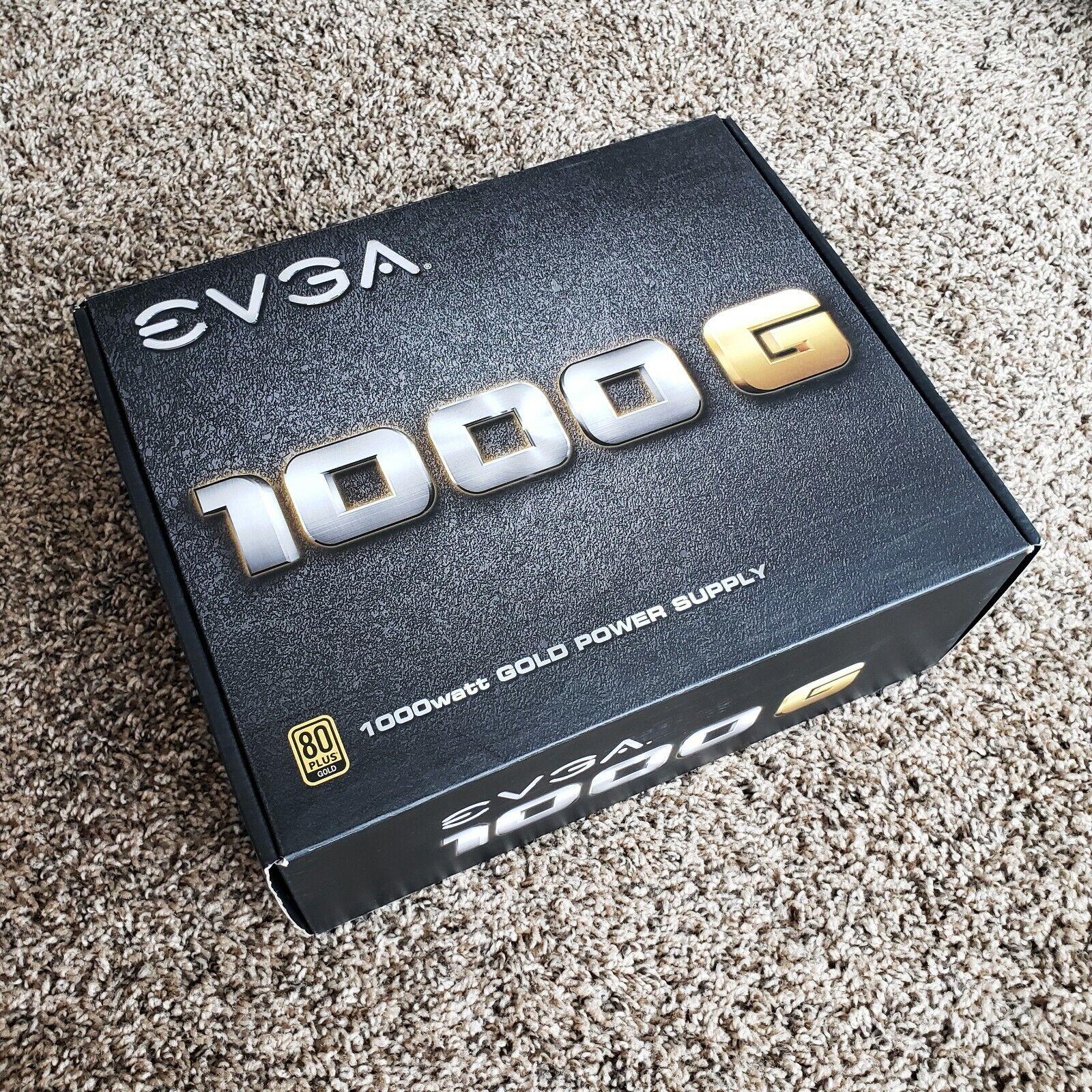 EVGA 1000G 1000W 80 GOLD Fully Modular Power Supply 120-G1-1000-VR - $119.00