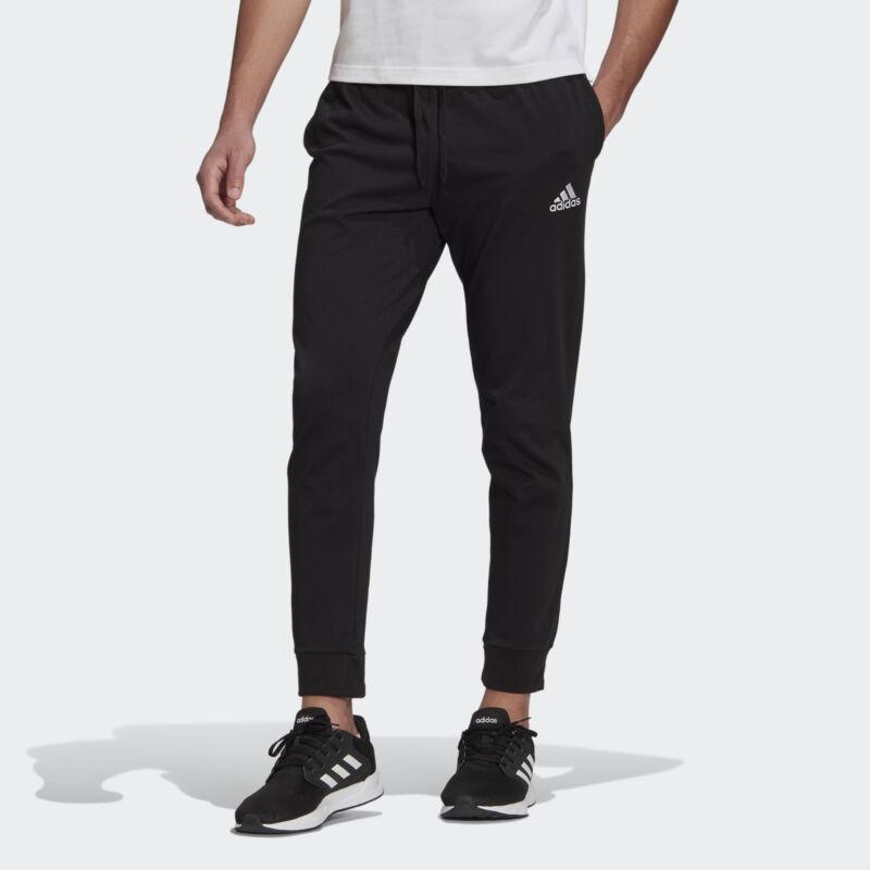 adidas Essentials Single Jersey Tapered Cuff Pants Men