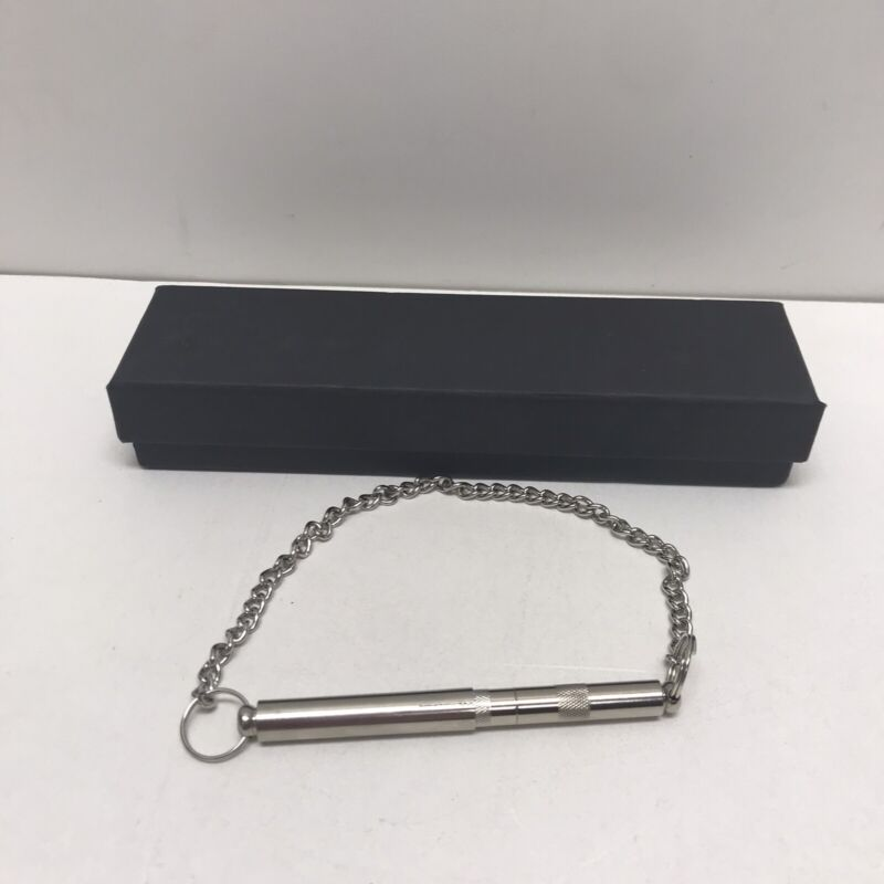 Acme Silent Dog Whistle Silver, Adjustable