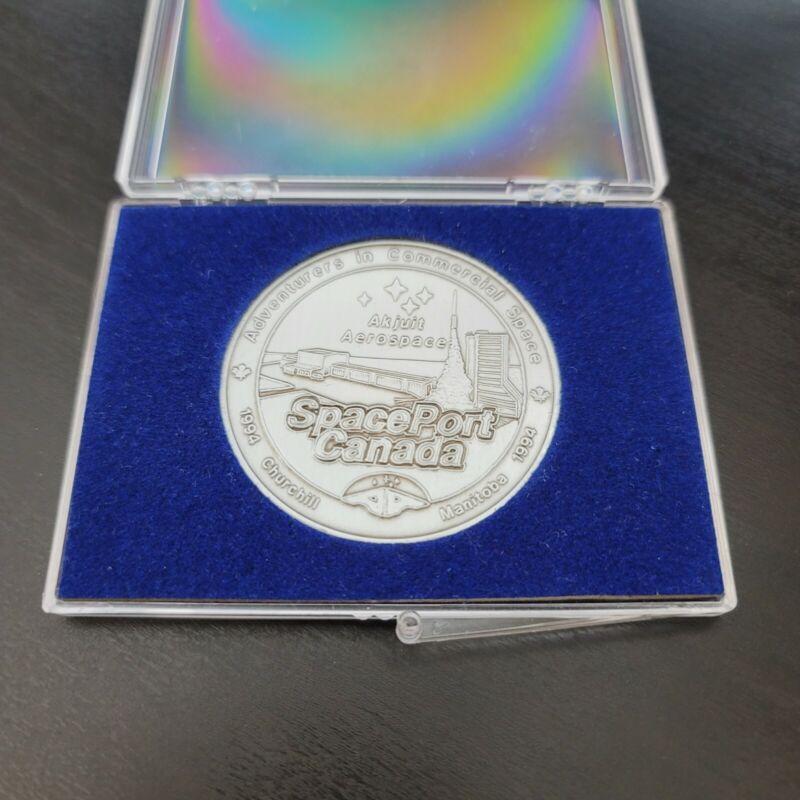 Space Port Medal Pioneers in Polar Science 1957-1989