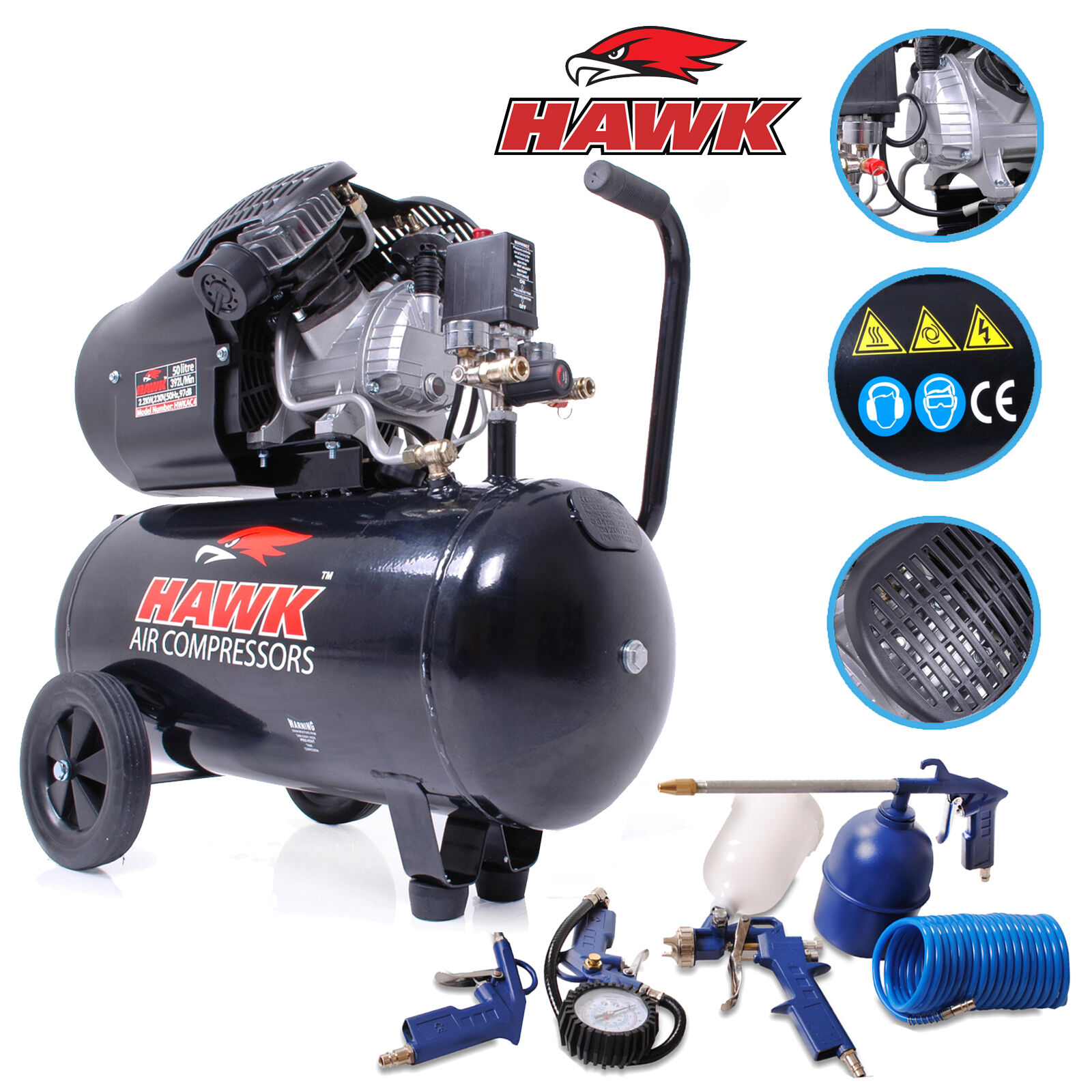 how to build a high pressure air compressor