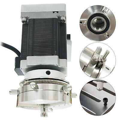 Rotary Axis Rotary Fixture Cnc Router Rotational Axis For Mini Engraving Machine