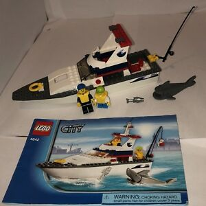 Lego City- Fishing Boat Set 4642 EUC