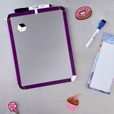 Pengear New Design Metallic Surface Magnetic Dry Erase Board With Pen Magnet