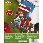 Bucilla Holiday/Christmas Hand Embroidery Stockings