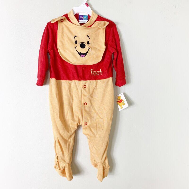 Vintage Infant Winnie The Pooh Pajamas