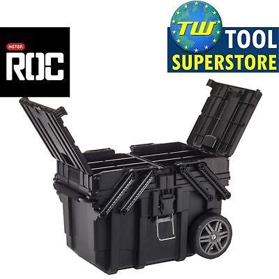Keter ROC Heavy Duty Pro Gear Mobile Tool Storage Wheeled Toolbox KET17203037