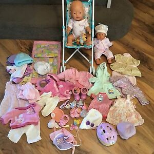 Baby born doll with lots of accessories Jindalee Wanneroo Area Preview