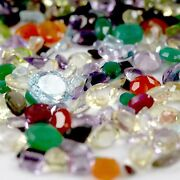 Faceted Loose Gemstones Mix