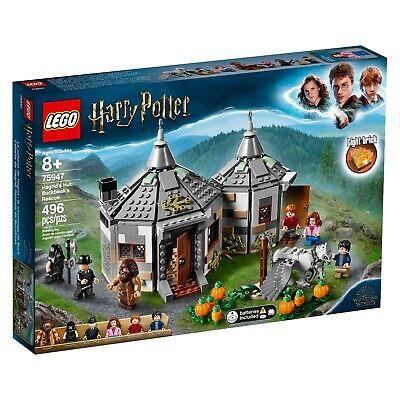 LEGO Harry Potter Hagrid's Hut: Buckbeak's Rescue 75947 BRAND NEW UNOPENED