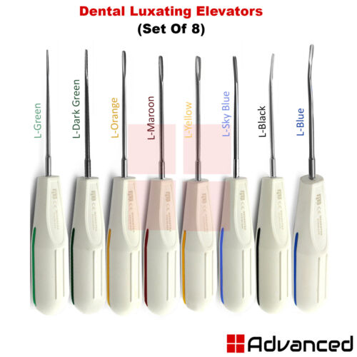 Medentra Surgical Luxation Instruments Dental Tooth Extraction Root Elevators CE