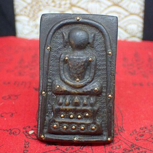 Phra Somdej Amazing Buddhism Amulet Brass Thailand Buddha Sculpture Talisman