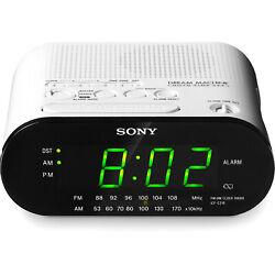Sony Dream Machine ICF-C318 Automatic Time Set Clock Radio with Dual Alarms
