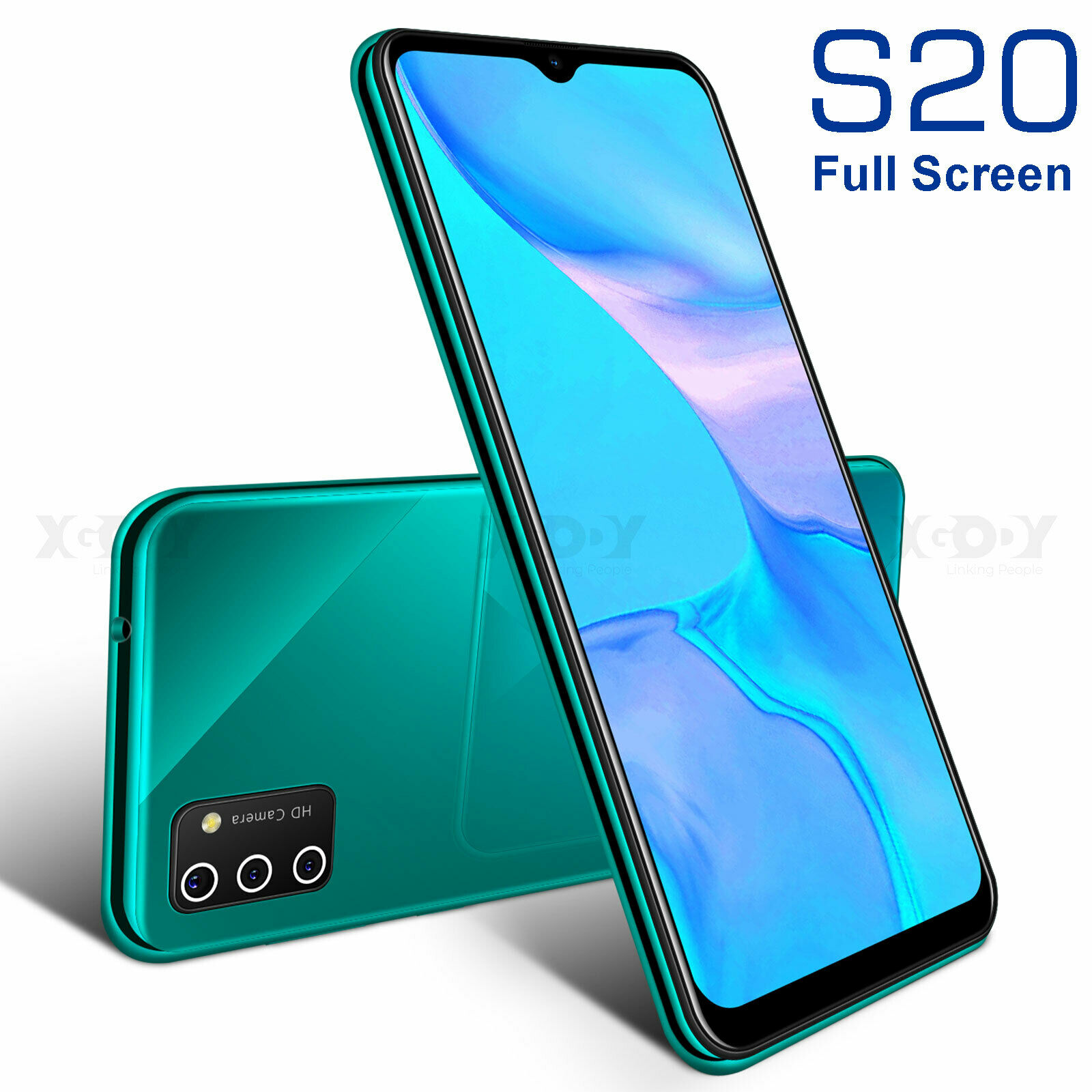 Android Phone - 2021 Android 9.0 Cheap Unlocked Cell Phone Smartphone Dual SIM Quad Core Phablet