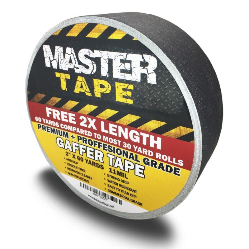 "GAFFER TAPE - 2""x60 Yard - Premium Grade Gaffers Tape - FREE SHIPPING!"