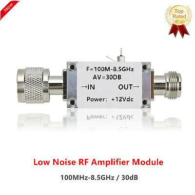100mhz-8.5ghz Rf Amplifier Lna Low Noise Amplifier High Linearity With Cnc Shell