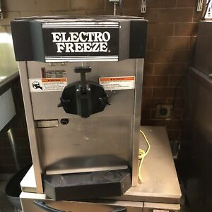 Commercial used soft ice cream machine