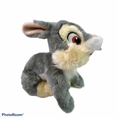 "The Disney Store Bambi Thumper Bunny Rabbit Plush Stuffed Animal 9"" Very Soft"