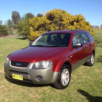 2004 Ford Territory AWD Dual Fuel Barden Ridge Sutherland Area Preview