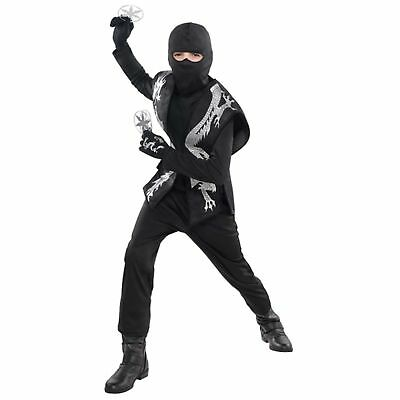 Ninja Accessory Set Child Assasin Warrior Kids Boys Fancy Dr