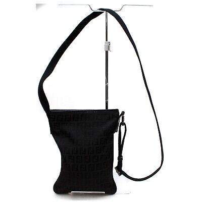 Fendi Shoulder Bag  Black Nylon 834906