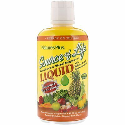 Nature's Plus, Source of Life, Liquid Multi-Vitamin & Mineral Supplement  887