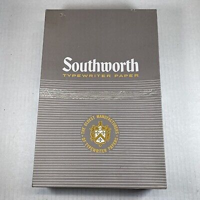 Southworth Paper Racerase 419d Plain Cockle Finish 8 12 X 13 Typewriter Paper