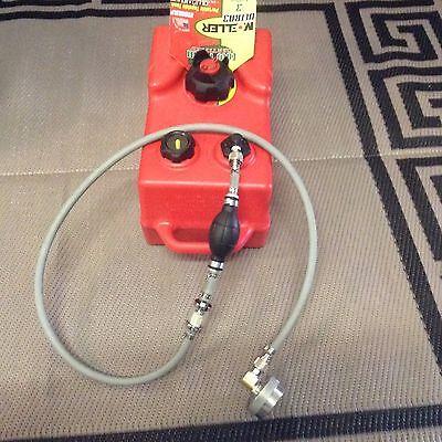 Craftsman 3000 Watt Generator 3 Gallon Ext Run Marine Fuel System