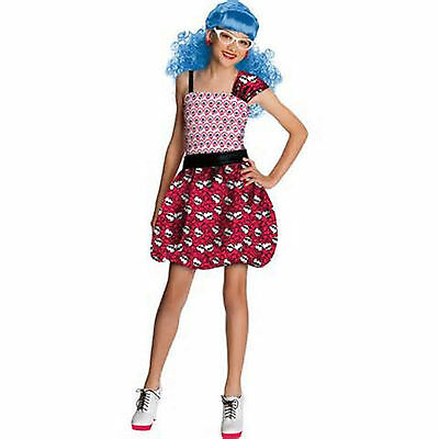 Monster High Ghoulia Yelps Daughter of Zombies Costume M 8-10 NIP ](Monster High Zombie Costume)