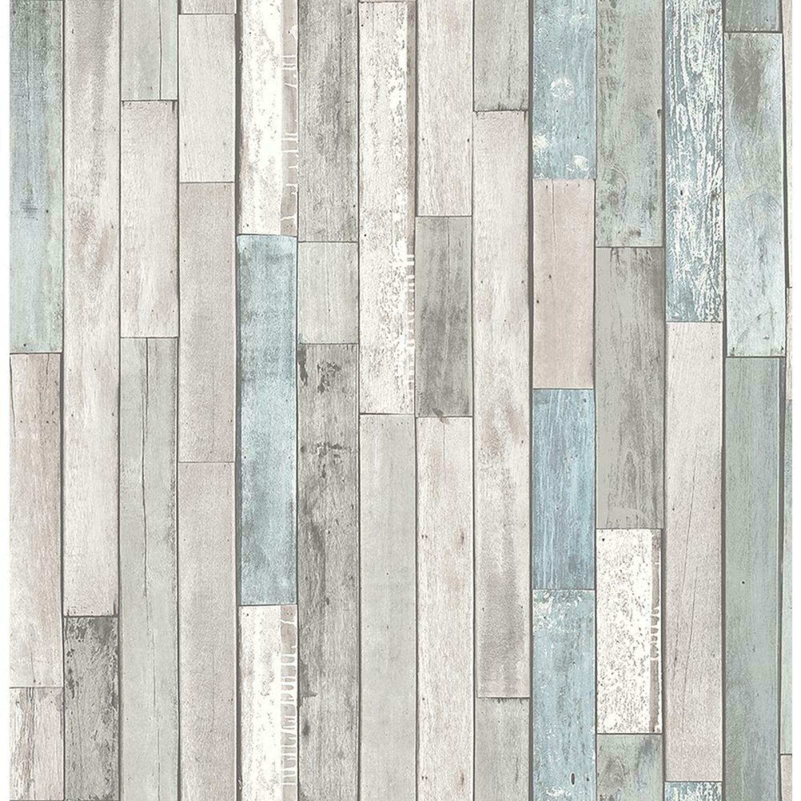 Details About Barn Board Grey Thin Plank Wallpaper Washable Strippable Woven Material Comfert