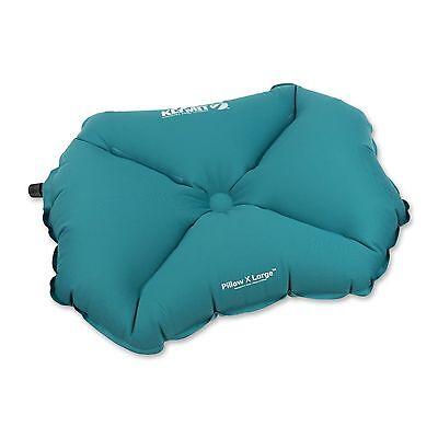 Klymit PILLOW X LARGE Camping Pillow TEAL BLUE Lightweight Camping BRAND NEW
