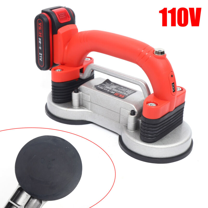 Tile Tiling Machine 2-Suction Cup Tiles Paving Leveling Tool 10000Rpm 5-speed