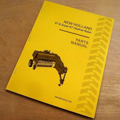 New Holland 66 Baler Hayliner Operator's Owners Book Guide