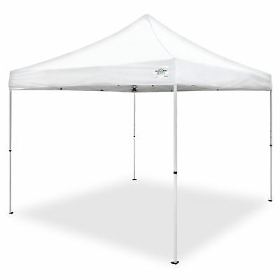 Caravan Canopy M Series Pro 2 10 x 10 Foot Straight Leg Instant Canopy, White