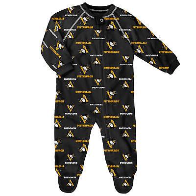 Fanartikel Weitere Wintersportarten NHL Pittsburgh Penguins AOP Schlafanzug Strampler Neugeborene Baby Fanatics