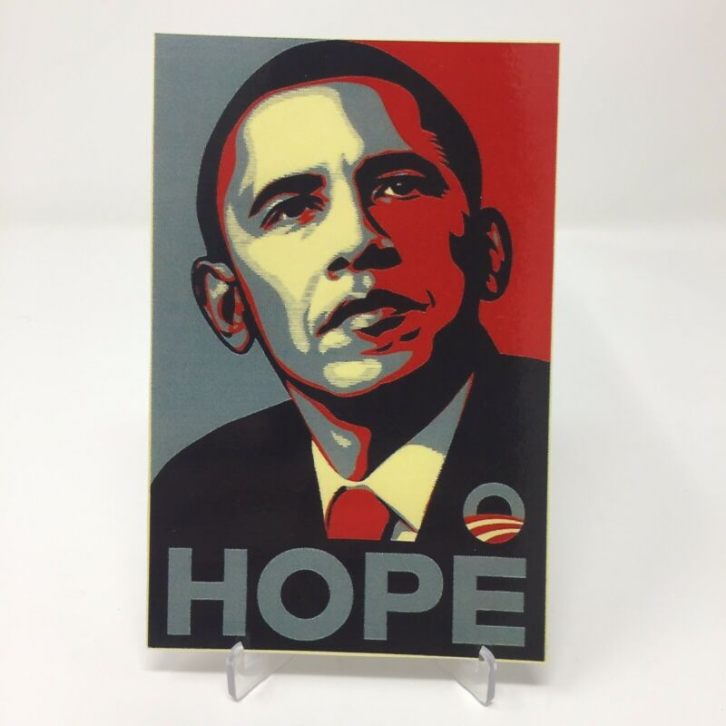 President Barack Obama Hope Card