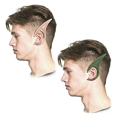 Gargoyle Dark Elf Fairy Goblin Flexi Costume Cosplay Accessory Ears Green Flesh