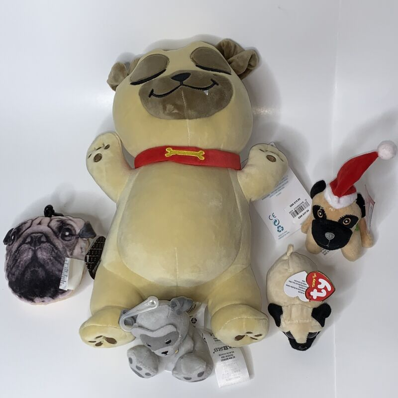 Pug Plush Toys New With Tags Best Offer
