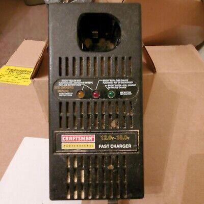 Craftsman Vintage 12-18 Volt Battery Fast Charger Hard To Find Model