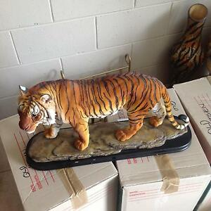 Large Tiger statue cost 140 new bargain Sandy Bay Hobart City Preview