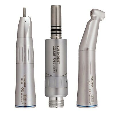 Coxo Inner Water Low Speed Contra Angle Air Motor Straight Handpiece Kit Cx235b