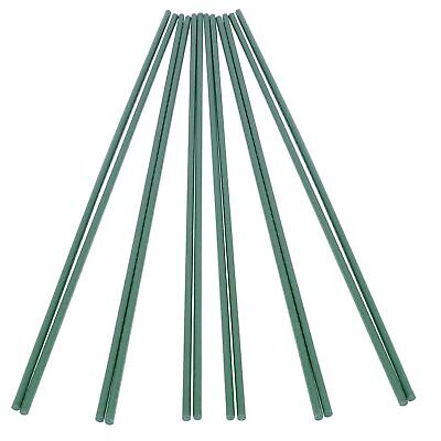 Plastic Coated Steel Pipe Plant Supporter-Vegetable Support Stakes Stretchable