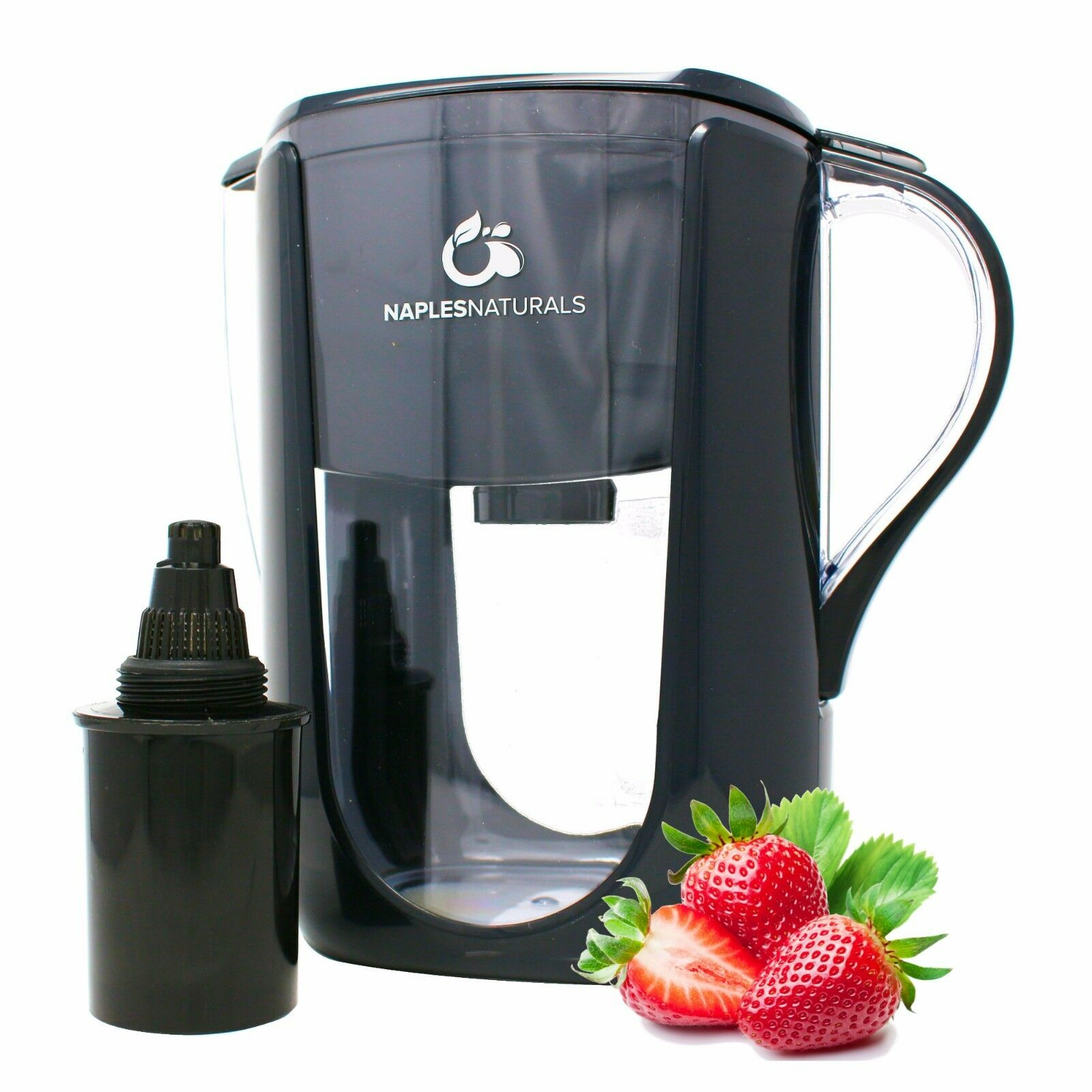 Alkaline Water Pitcher with Chlorine Filter, 10 Cups by Napl