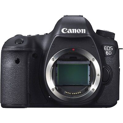 Canon EOS 6D Digital SLR Camera Body Only - New UK Stock