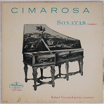 ( CIMAROSA: Sonatas complete Veyron-Lacroix, Harpsichord WESTMINSTER XWN 18698 lp)