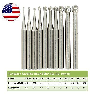 Wave Dental Operative Bur Tungsten Carbide Fg Round Fg 14 12 2 3 4 5 6 7 8