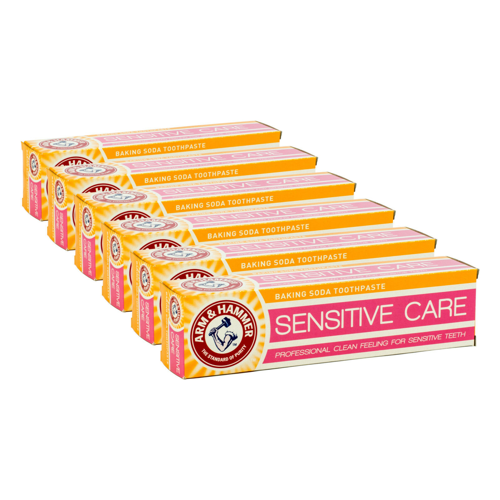 (3,20€/100ml) 6x Arm & Hammer Zahnpasta Extra White Sensitive Care 125ml  -8%!